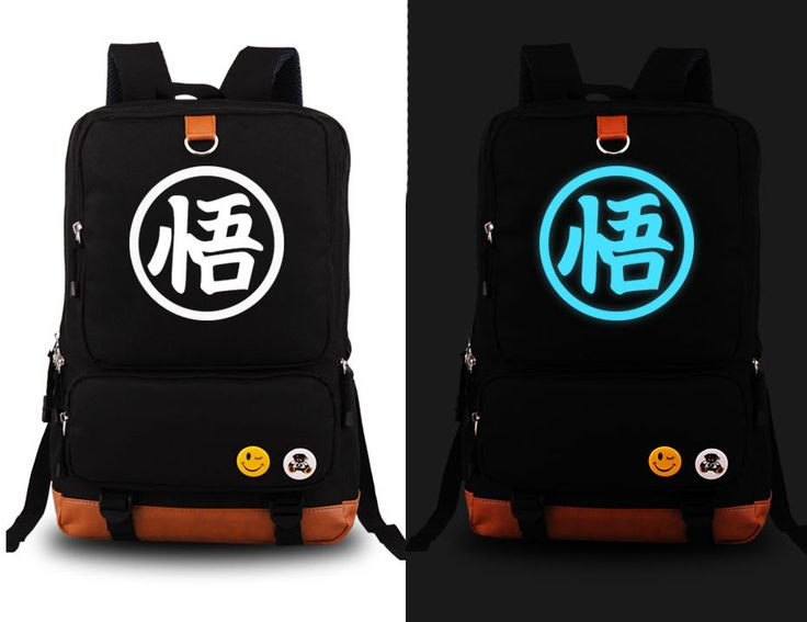Dragonball Z Son Goku Kame Symbol Backpack Canvas Schoolbag //Price: $48.00  ✔Free Shipping Worldwide   Tag your friends who would want this!   Insta :- @fandomexpressofficial  fb: fandomexpresscom  twitter : fandomexpress_  #shopping #fandomexpress #fandom