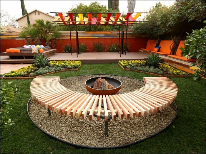feuerstelle fur den garten | mabsolut, Garten seite
