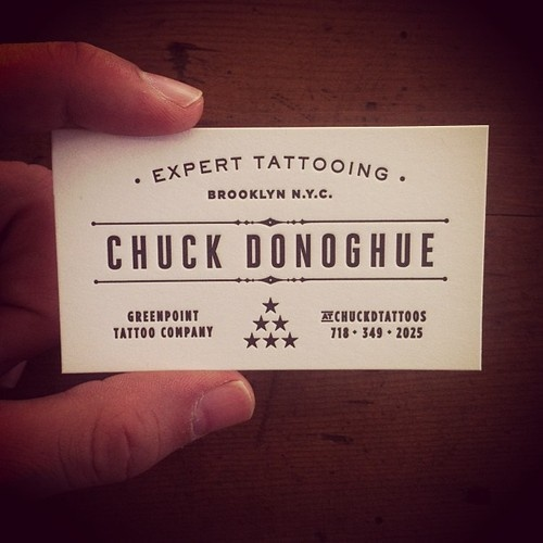 30 best business card design images on pinterest carte de visite new business cards for chuck d tattoos printed by the amazing guys over at mama sauce design by two arms inc reheart Images