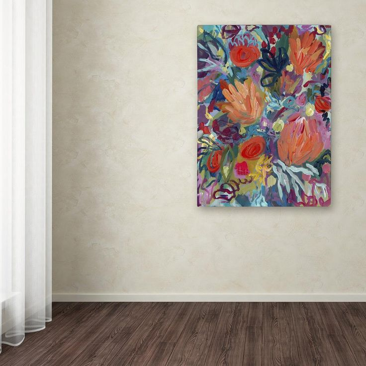 """19 in. x 14 in. """"Mil Besos"""" by Carrie Schmitt Printed Canvas Wall Art"""