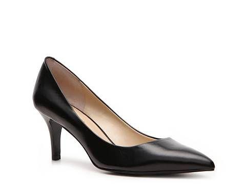 Shoes are my weakness.     Nine West Elise Leather Pump Mid & Low Heel Pumps Pumps & Heels Women's Shoes - DSW