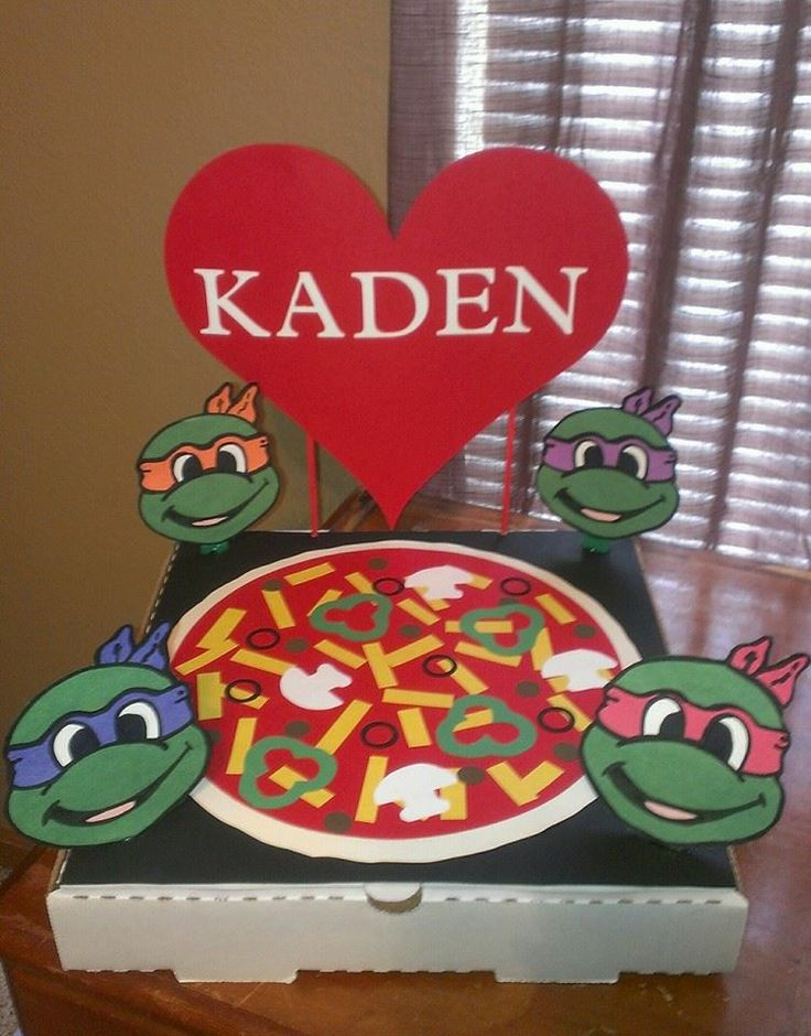 My son's Valentine's Day box for school.
