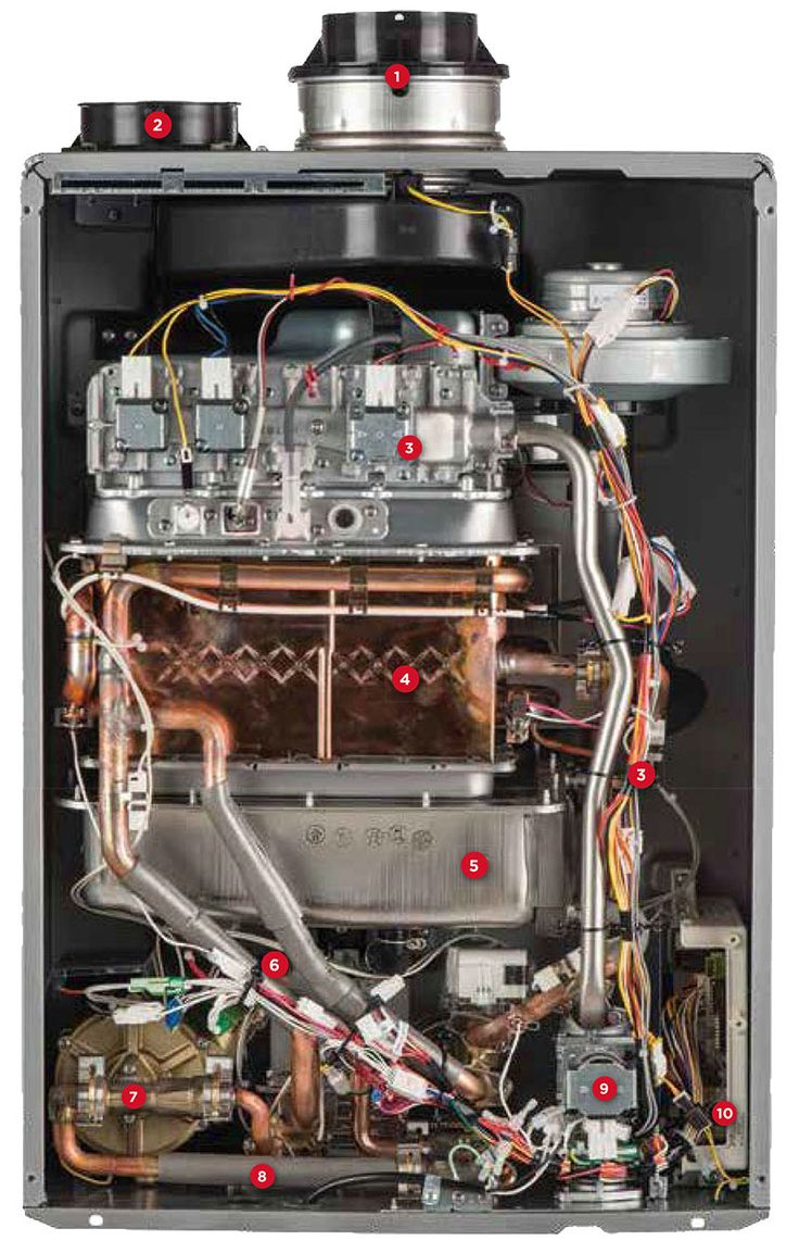 Pros and cons of gas tankless water heaters - Rinnai Introduces The First And Only Tankless Water Heater In The Industry To Offer Both Concentric
