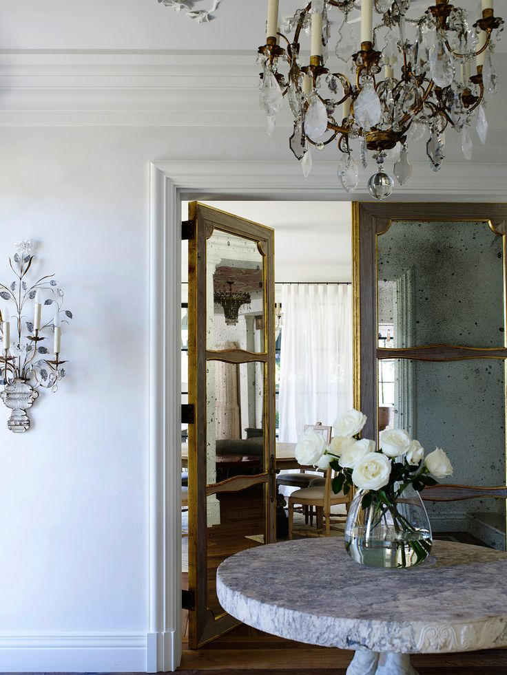 Entry hall from Italianate Mansion in Sydney by Dylan Farrell Design. Photography: Prue Ruscoe | Styling: Karen Cotton