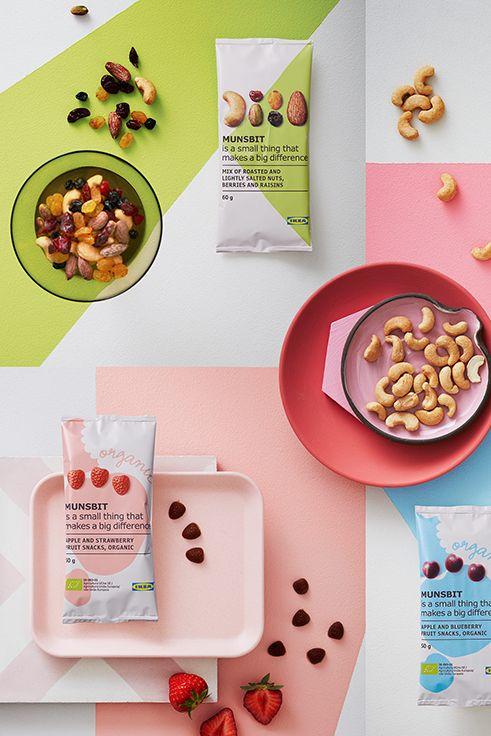 Ενέργεια και γεύση κρύβονται σε κάθε σακουλάκι MUNSBIT. Μείγματα καρπών με κέλυφος και σνακ φρούτων γίνονται το υγιεινό σνακ για κάθε στιγμή.