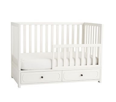 Weston Crib Toddler Bed Conversion Kit Simply White