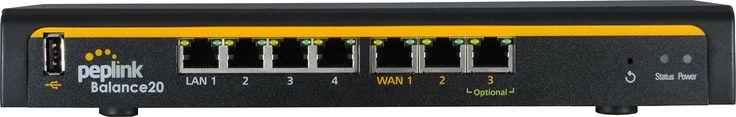 Peplink Balance 30 LTE Multi-WAN 4G LTE Router For Euro & Int'l Cellular Networks (BPL-031-LTE-E-T)