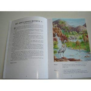 Haitian Language 25 Favorite Bible Stories / Childrens Bible Story Book / Ura Miller  $14.99