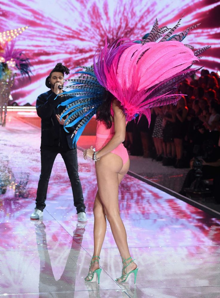 Adriana Lima – 2015 Victoria's Secret Fashion Show in NYC