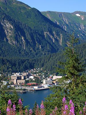 Juneau, Alaska...would like to go someday!