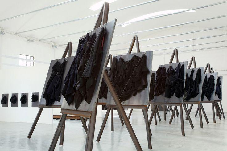Jannis Kounellis at Giorgio Persano Turin - Artmap.com