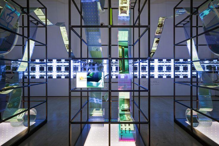 B&B Italia / The Perfect Density Exhibition - LaTriennale di Milano -  02.04 - 17.04.2016 Project by Migliore+Servetto Architects Video Production by 3D Produzioni #50bebitalia #theperfectdensity #21triennale #milan #design