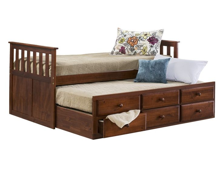 Slumberland Knollwood Collection Chocolate Captains Bed Furniture Pinterest Beds