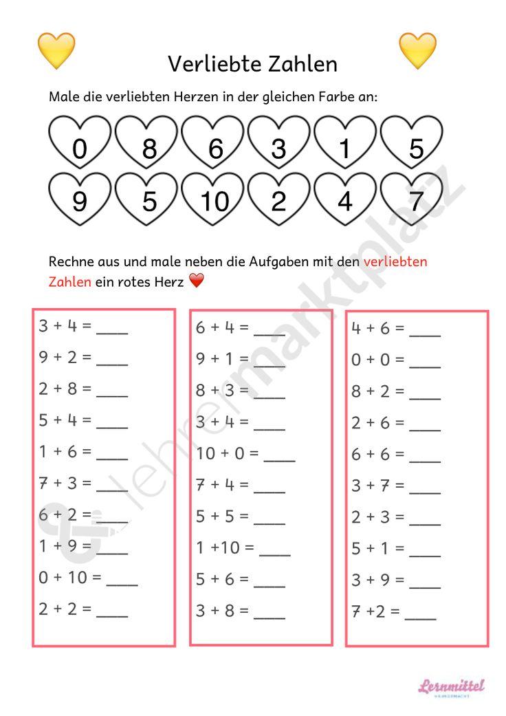 307 besten Rechnen Bilder auf Pinterest | Grundschulen, Einmaleins ...