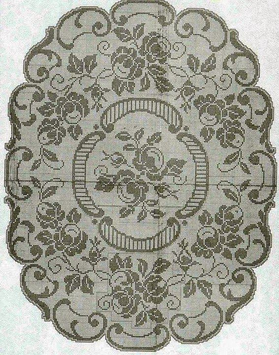 25 B 228 Sta Oval Tablecloth Id 233 Erna P 229 Pinterest Filet