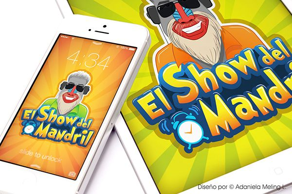 El show del mandril - Diseño de logotipo by Andiseño Estudio, via Behance