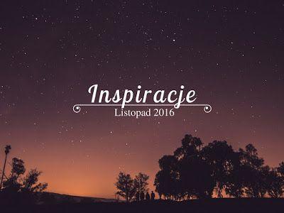 9 inspiracji - listopad