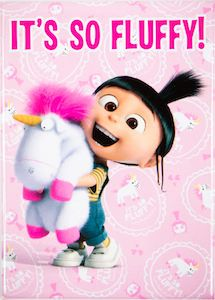 Despicable Me Agnes It's So Fluffy Magnet