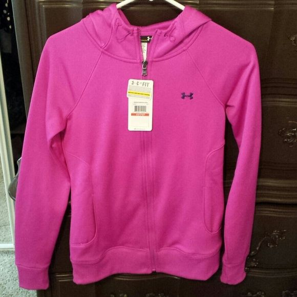 "Under Armour Jacket NWT women's coldgear jacket. tag says ""semi-fitted"" but I would consider it fitted. Under Armour Jackets & Coats"