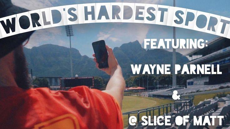 #BreakTheNet Task 2 – The World's HARDEST sport ft: Wayne Parnell & SliceofMatt - YouTube