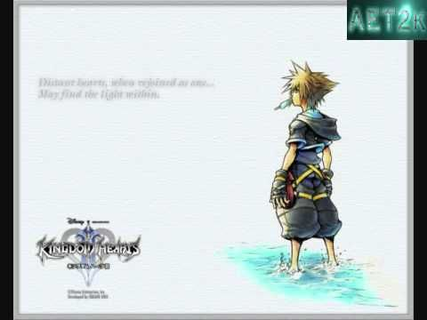 Kingdom Hearts II - Dearly Beloved [Extended w/ DL Link]: Looking into her eyes on a moonlit night