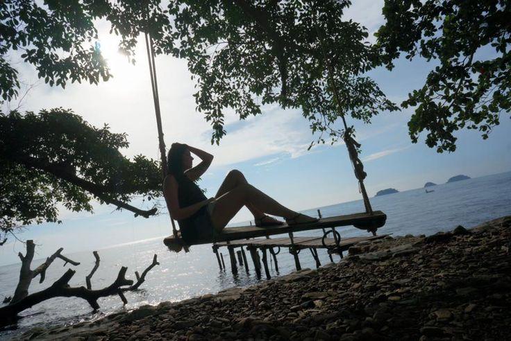 Koh Chang, Thailand, Asia Tree swing  http://tinytrek.blogspot.fi/2015/10/eagle-has-landed-koh-chang.html