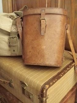old leather things