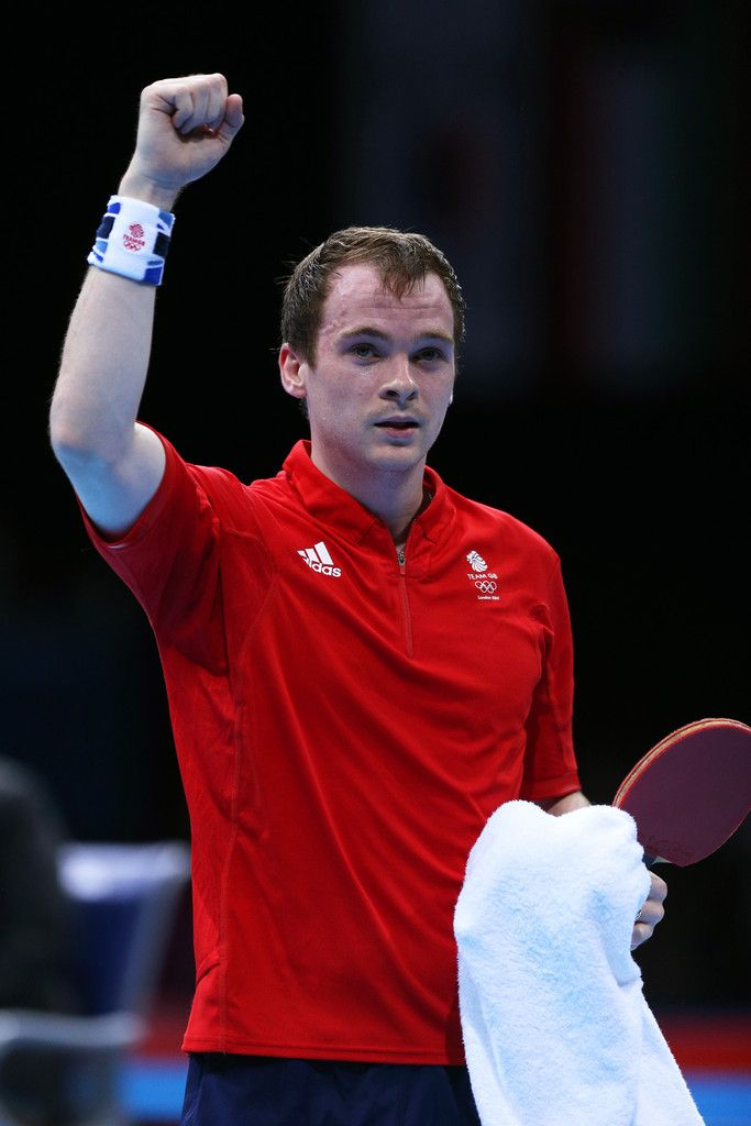 Day 1:  Table Tennis - Men's Singles - Paul Drinkhall of Great Britain