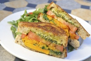 beehive cafe butternut squash sandwich. oh how i miss the days of working there... sigh