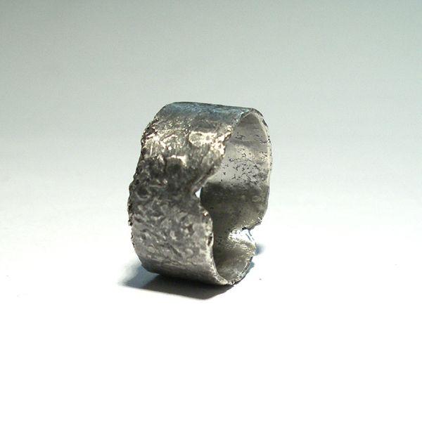 Srebrny Pierścień|Silver Ring|Handmade|By Norman Man Jewellery