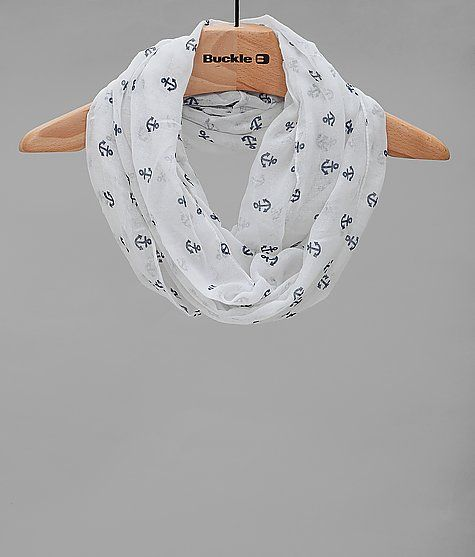 Printed Anchor Scarf at Buckle.com $14.95