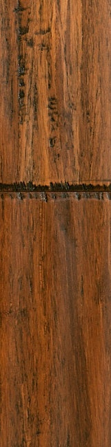 Bamboo flooring. Love it! - wonder what @JKDesignICT would think of this in my basement.