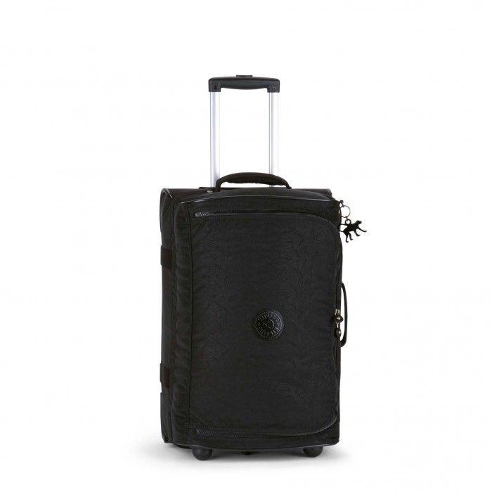 Kipling Teagan Basic S Trolley-Reisetasche Plus Black Leaf