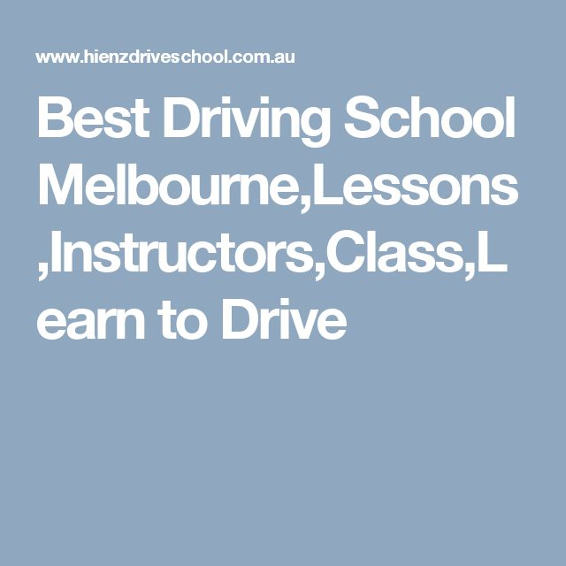 Best Driving School Melbourne,Lessons,Instructors,Class,Learn to Drive