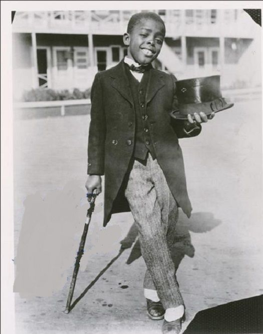 """ERNEST FREDRIC """"SUNSHINE SAMMY"""" MORRISON: FIRST BLACK ACTOR TO SIGN A LONG-TERM FILM CONTRACT"""
