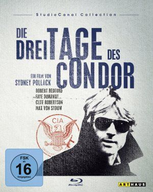 One of the best spy thrillers out there-this poster is even more cool in German