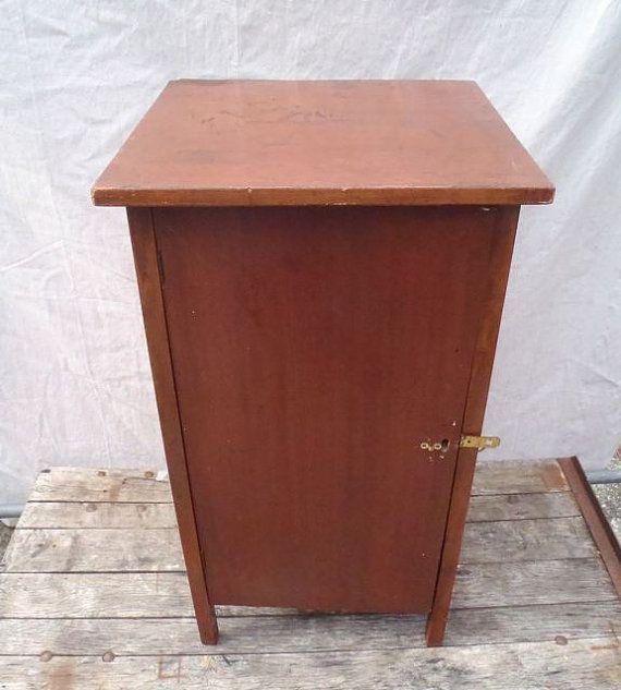 Vintage Solid Wood Cabinet With Two by vagabondsandcaravans, $225.00