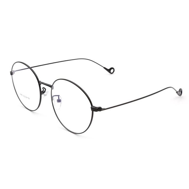 Men and Women Full Rim Alloy Metal Round Eyeglasses Frame Optical Eyewear Prescription Spectacles for Man and Woman