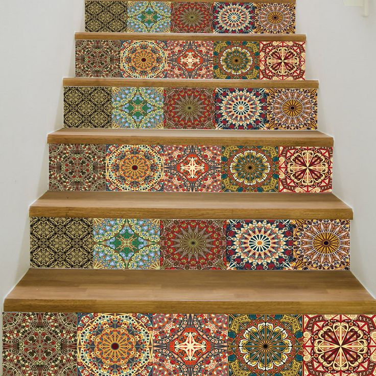 Arla Tiles Wall Decal Stair Decals Stick On Tiles Staircase Decals