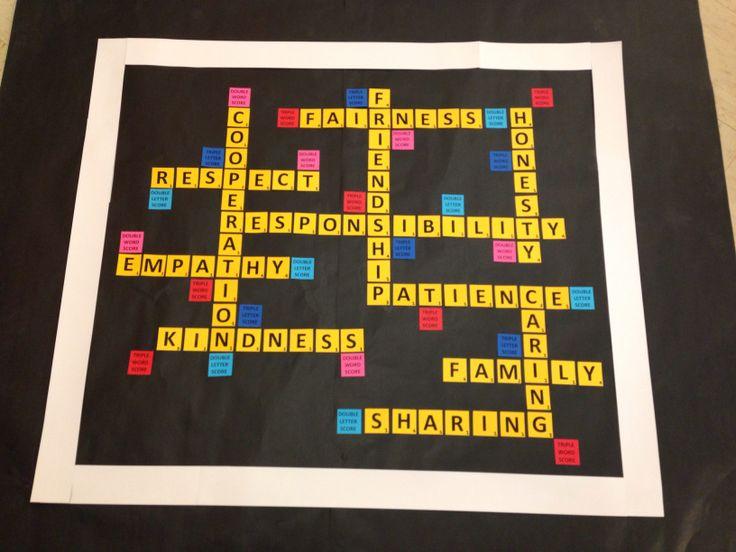 Best 25 Scrabble bulletin boards ideas on Pinterest Friends
