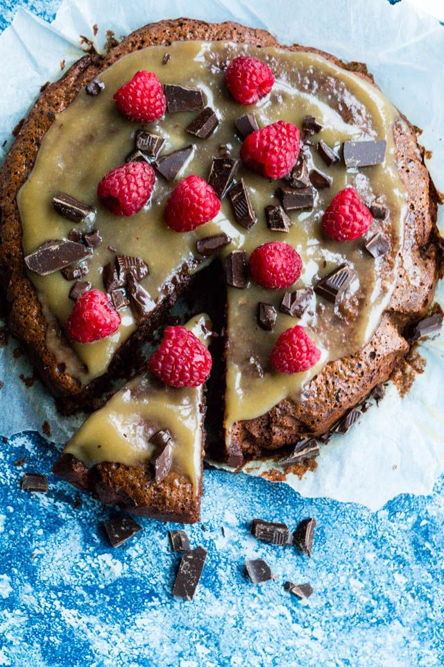 Chokoladekage med olivenolie (glutenfri)