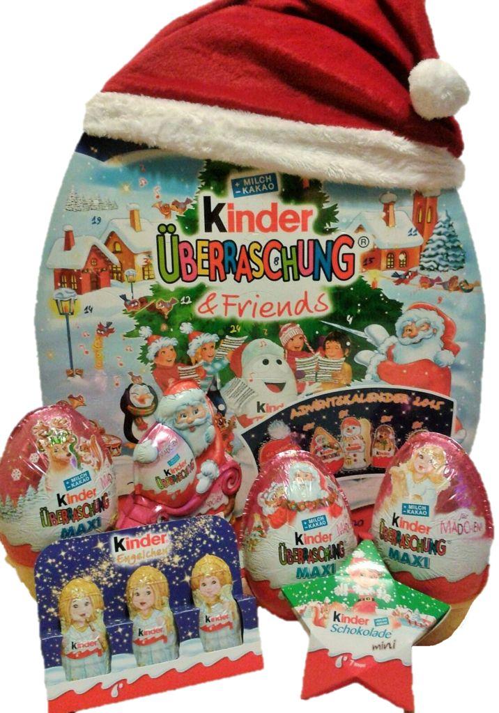 Kinder Advent Calendar with Surprise Eggs Girls Set #christmas #gifts #kinder #kindersurprise