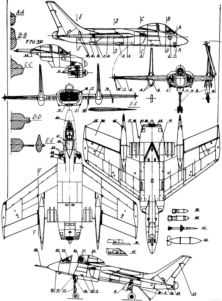 841 best images about aircraft 3 view scale drawings on for How to draw blueprints to scale