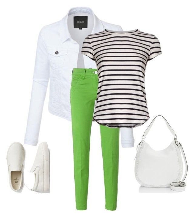 """white#fresh#green#148"" by bidlekerika on Polyvore featuring Jacob Cohёn, Frame, Gap and Rebecca Minkoff"