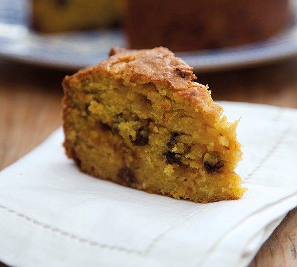 Annabel Langbein Pomarančový ľahký koláč