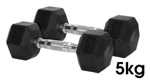 Body Maxx Rubber Coated Hex Dumbells 5Kg (Pack of 2) on January 09 2017. Check details and Buy Online, through PaisaOne.