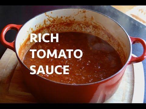 Vous succomberez au riche goût de ma sauce tomate! - Ma Fourchette