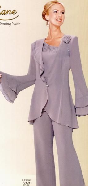 mother of the bride pant suits formal | 1015 evening pants suits for womens previous in evening pants suits ...