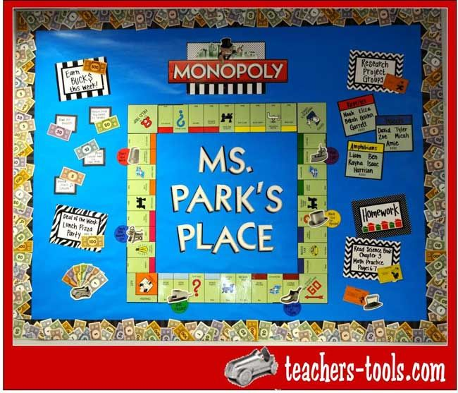 Classroom Game Ideas : Images about classroom space monopoly on