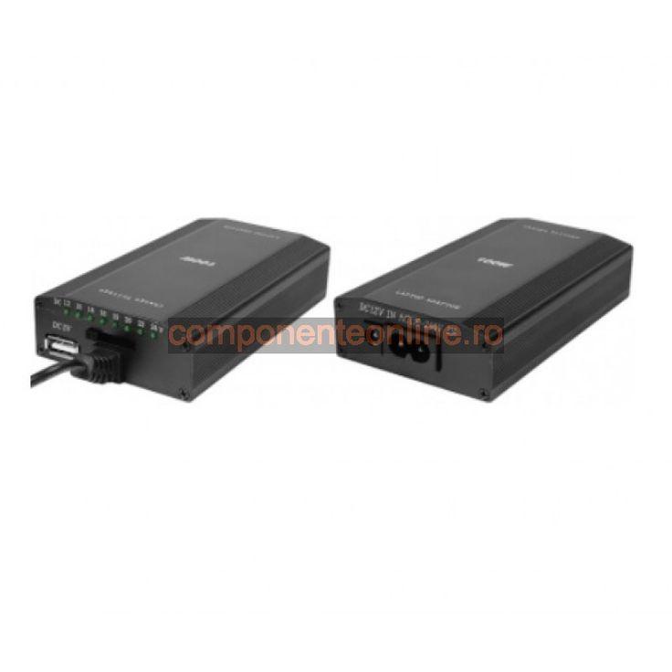 Incarcator universal laptop, 12V-220V - 113008